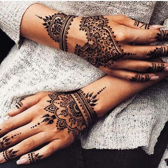 henna tattoos designs for hand