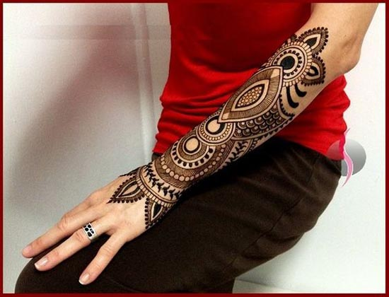 henna tattoos idea for hand