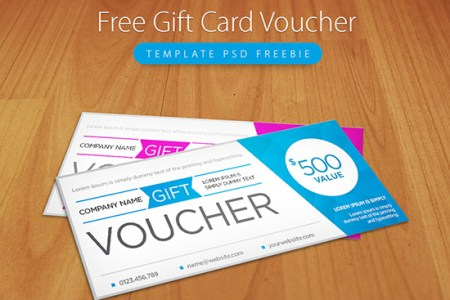 22  Best Free Gift Voucher Templates In PSD clean and modern gift voucher template psd