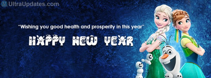 frozen-new-year-2016-facebook-cover-photos-for-girls
