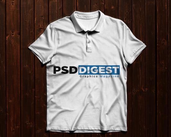 Free Polo T-Shirt Mockup PSD