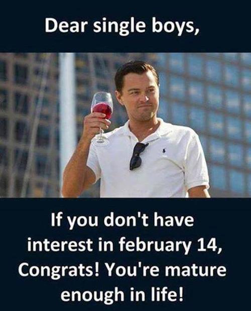 sarcastic valentine