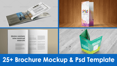 Photo of 25+ Brochure Mockup & PSD Template – Free & Premium Collection