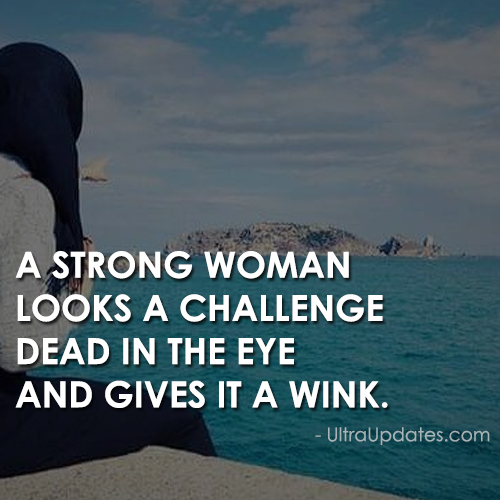challenging woman quote