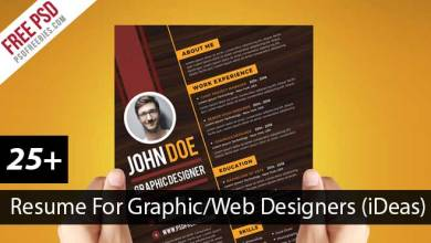 Photo of 28+ Best Creative Resume For Graphic Designers (PSD File & Ideas With Examples)