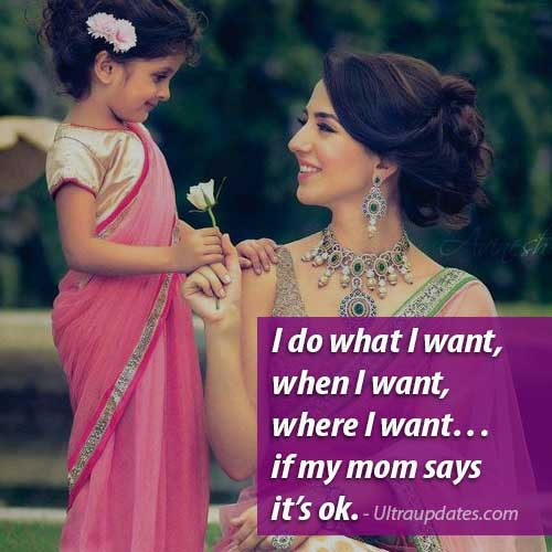 cute mother quote from daughter