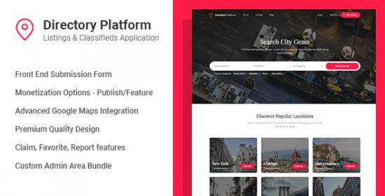 Directory Platform