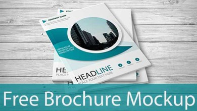 Photo of Free Brochure PSD Mockup – Instant Download