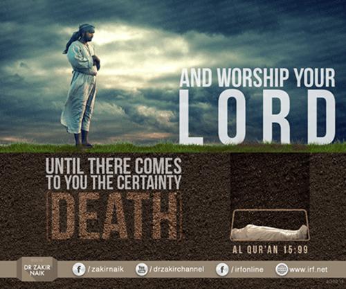 islamic death quote