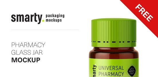 Pharmacy-glass-jar-mockup
