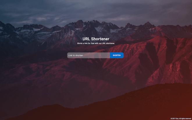 A Simple URL Shortener