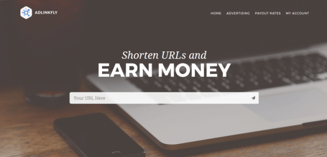 AdLinkFly Monetized URL Shortener
