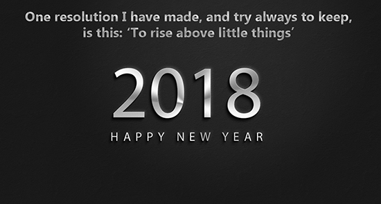 2018 New Year Motivational Quotes