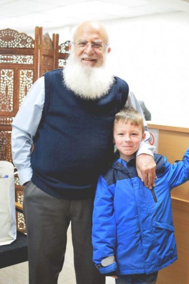 muslim Santa with Alfie