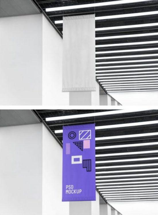 VerticalFlag Mockup