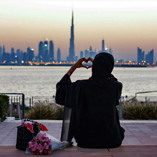 awesome muslim hijab girl dp