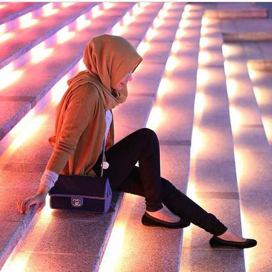 lovely muslim girls dps