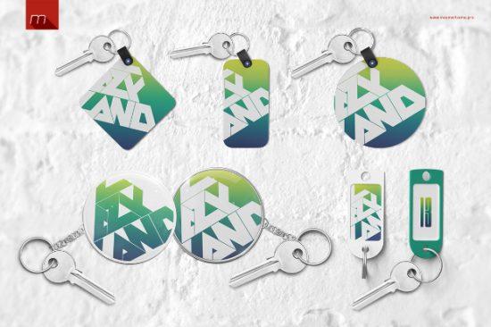 Keychain-Tag-Mockup