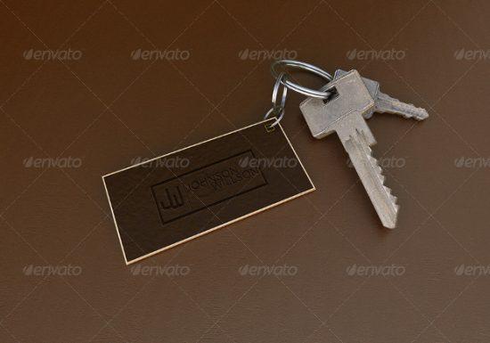 Square-Keychain-Mockup-Template