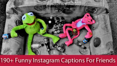 Photo of 190+ Funny Instagram Captions For Friends In English