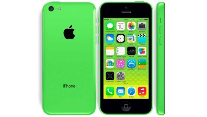 iPhone 5C 2013
