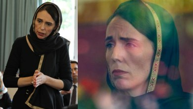 Photo of New Zealand PM Jacinda Ardern, wearing hijab, visits Christchurch terror attack victim's families