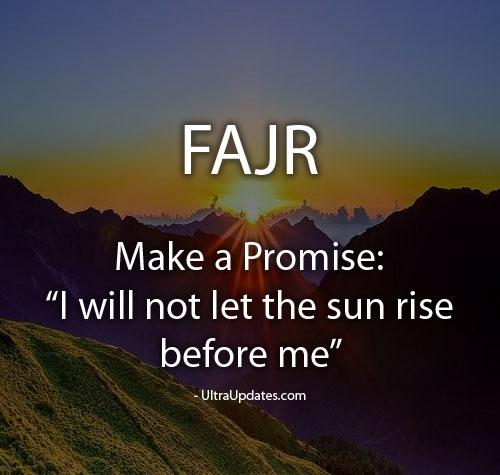 fajr sayings