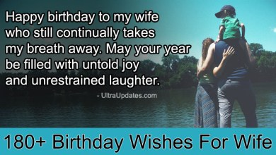 Photo of 180+ Romantic Birthday Wishes For Wife In English