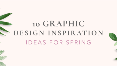 Photo of 10 Graphic Design Inspiration Ideas for Spring