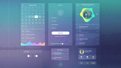 Photo of Zen UI Kit For Mobile Phone App