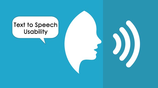 Text-to-Speech-Usability