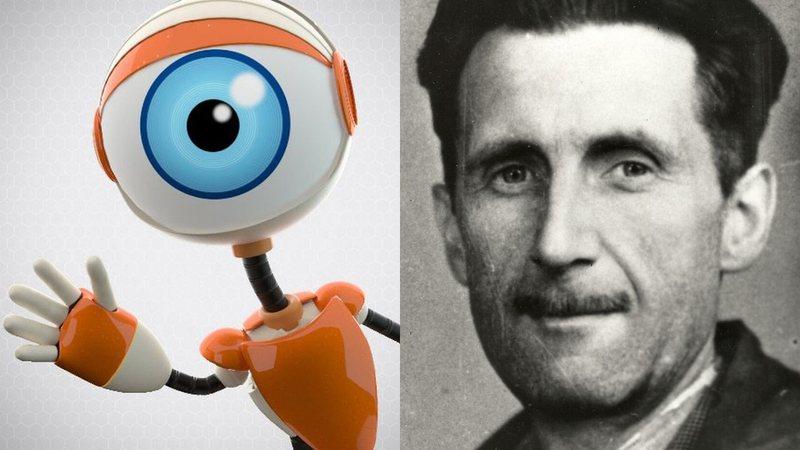A influência de George Orwell na origem do Big Brother