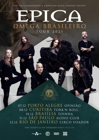 epica brasil 2021 tour