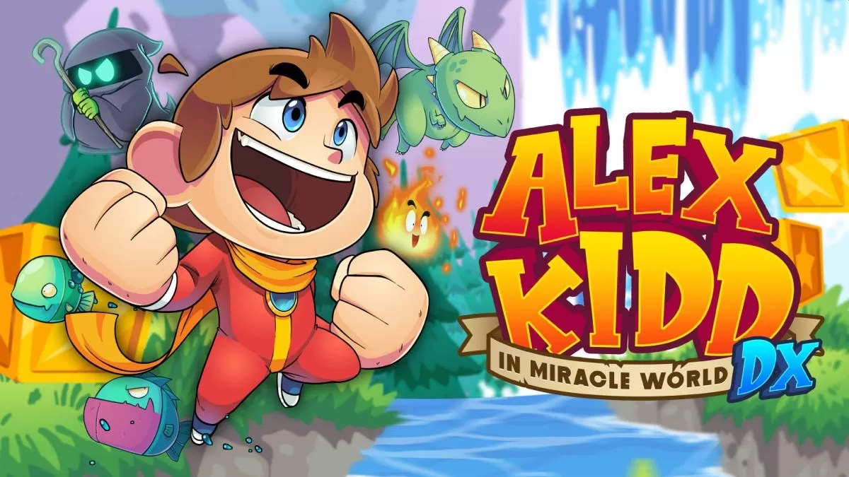 Alex Kidd in Miracle World DX recebe trailer e data de lançamento