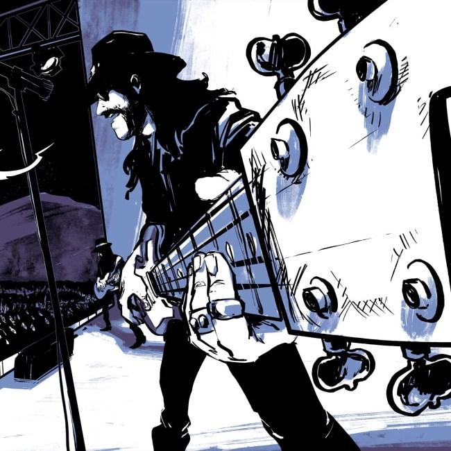 motorhead hq quadrinhos graphic novel 4