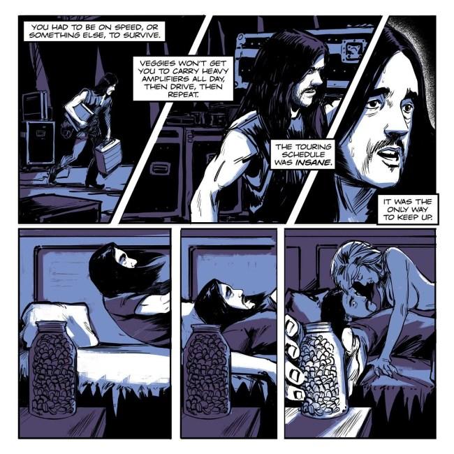 motorhead hq quadrinhos graphic novel 5