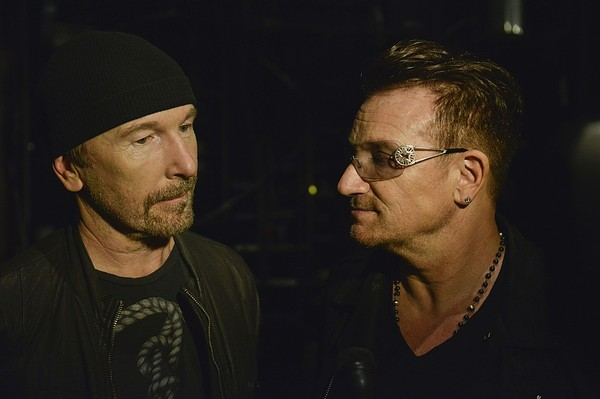 "Bono And The Edge Celebrate The 1,000th Performance of ""Spider-Man Turn Off The Dark"" On Broadway"