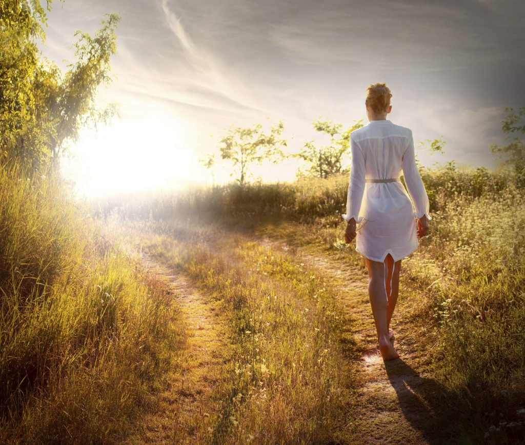 Walking Meditation And The Energy Of New Beginnings
