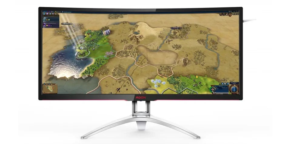 AOC Agon AG352QCX Curved Ultrawide Gaming Monitor