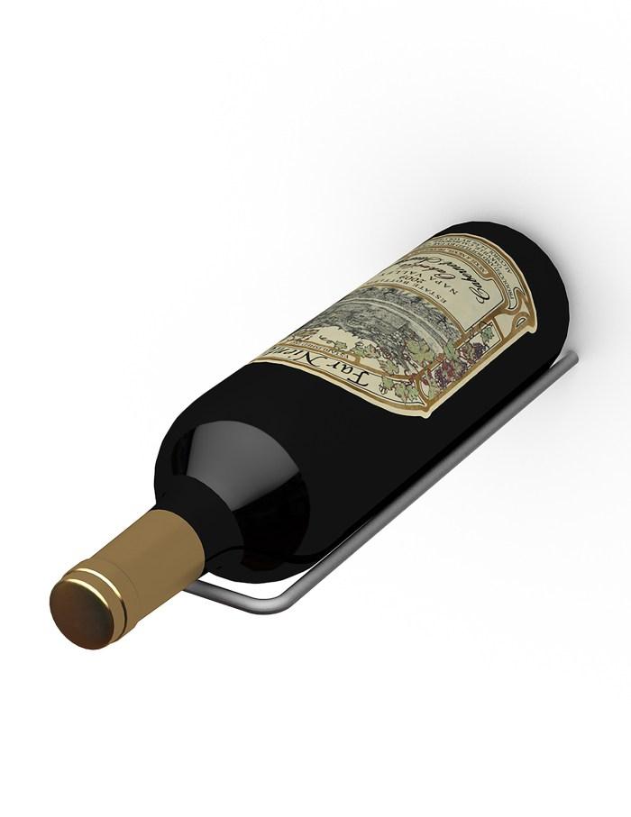 Max Reveal Straight Metal Wine Rack