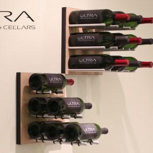 Wall Mounted Wine Rack Panels