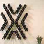 Angle-X1 Wine Wall Rails