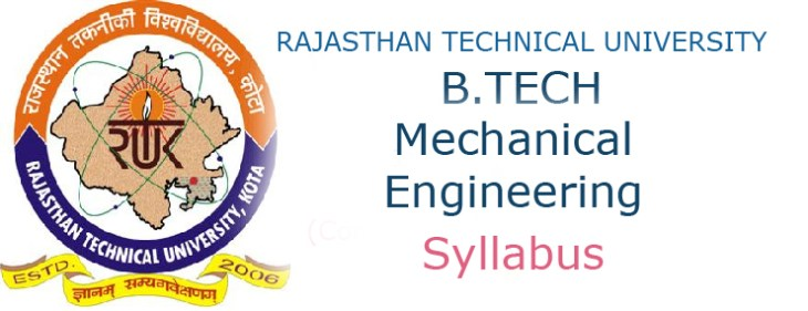 RTU B Tech Mechanical Engineering Syllabus – Ululu