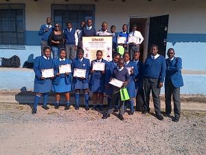 Participants and mentors, Amatshezulu High School