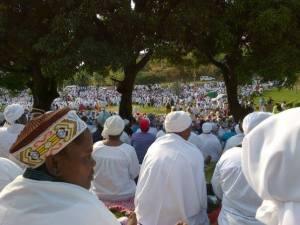 Shembe pilgrimage to Nhlangagazi