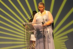 Cllr Zandile Gumede, Chairperson of the Community and Emergency Services Committee