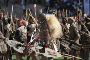 The Zulu amabutho (warriors)