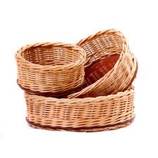 Baskets produced by the KZN Society for the Blind