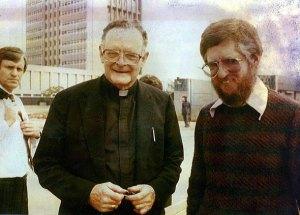 Archbishop Hurley & Paddy Kearney, 11 September 1985