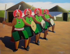Abafazi Bengoma (Women and Song) by Sibusiso Duma